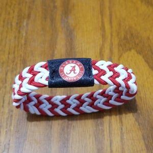 Alabama Crimson Tide Bracelet